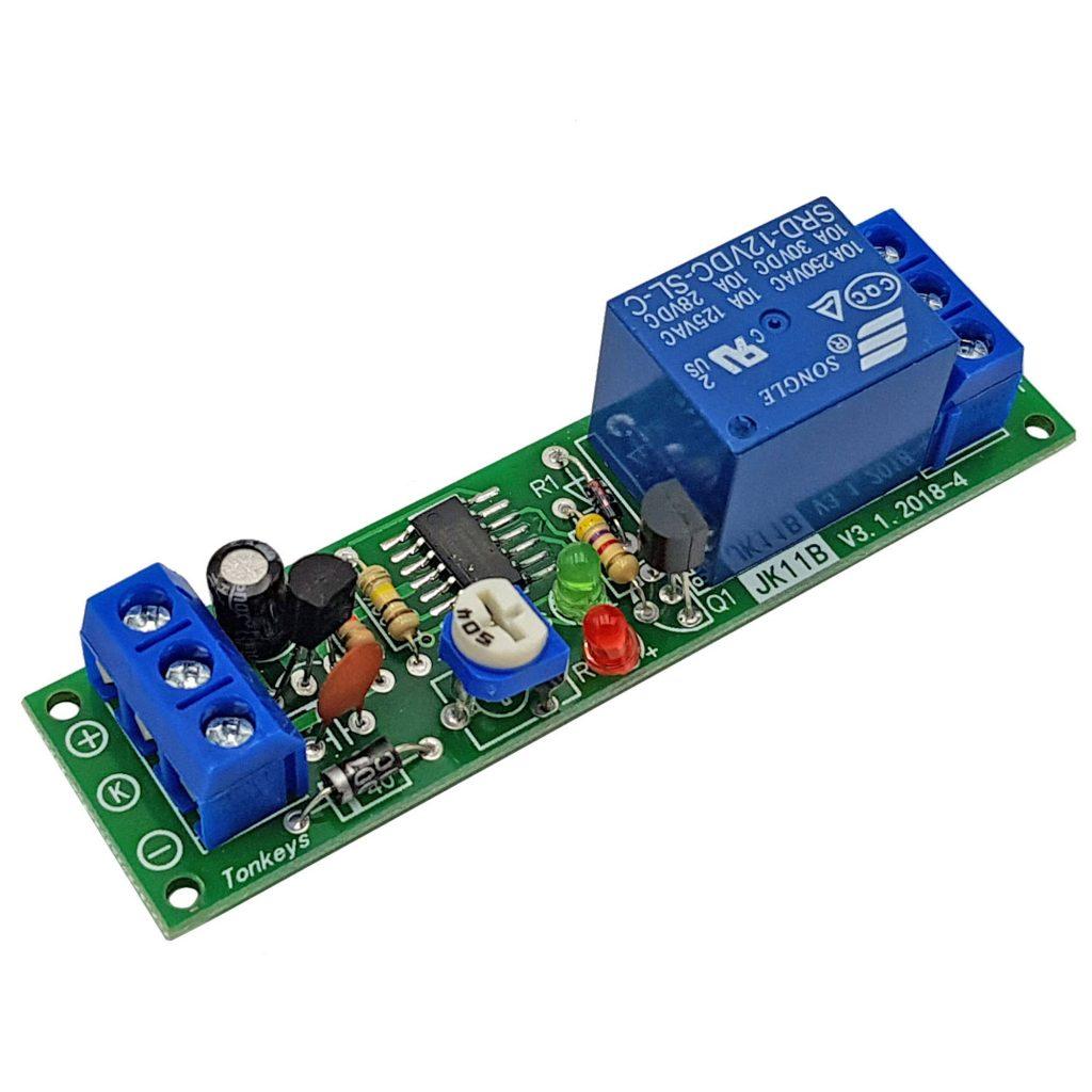 Module tạo trễ 0-10000s JK11B-12VDC