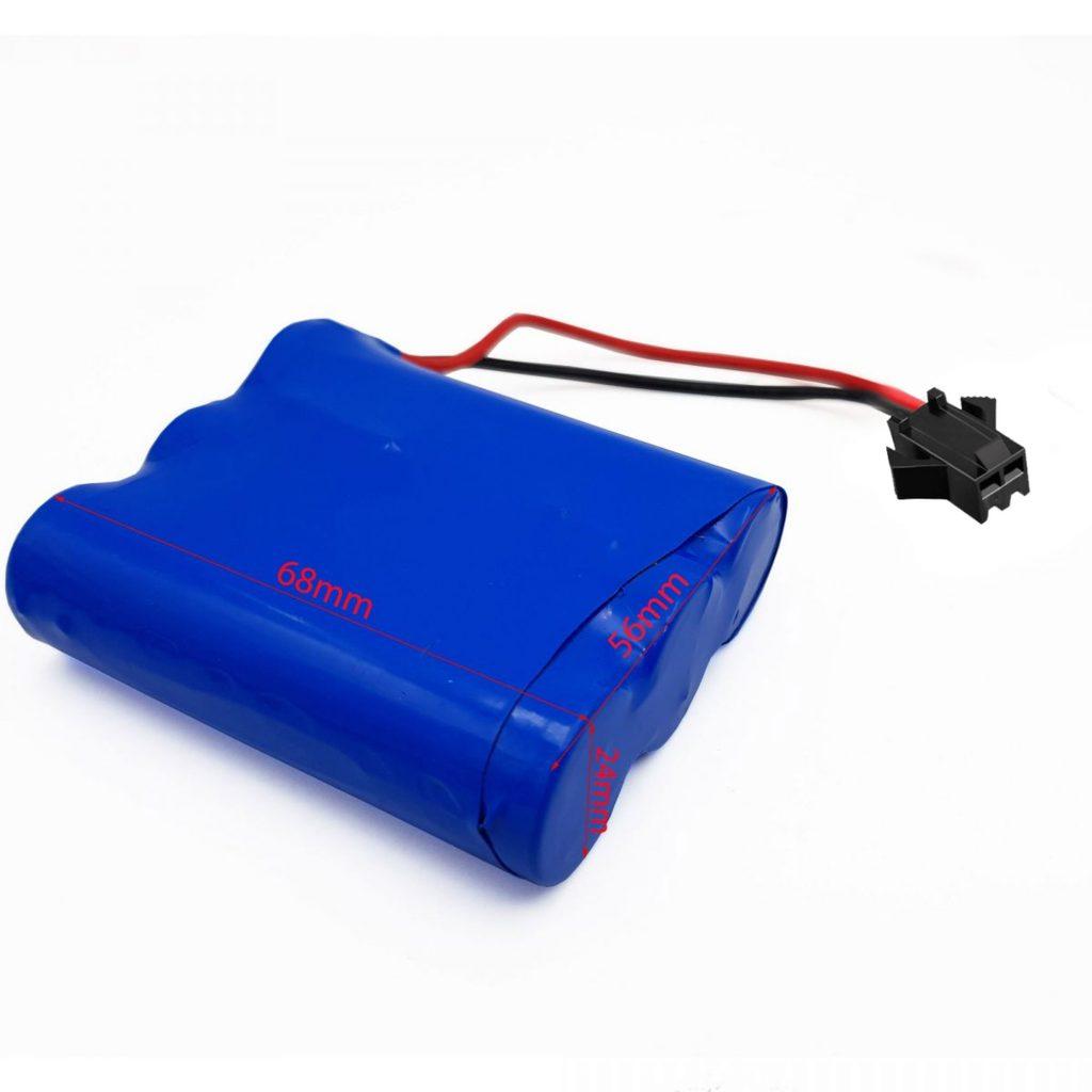 Pin 18650 3S 12.6V 2600mAh có tích hợp mạch bảo vệ