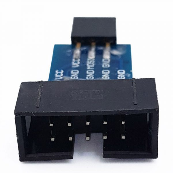 Đế chuyển đổi AVRISP - USBasp - STK500 10 PIN sang 6 PIN