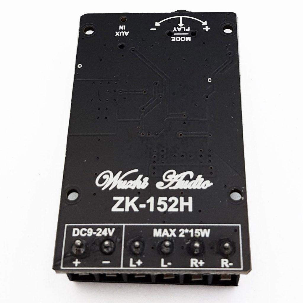 Mạch khuếch đại âm thanh bluetooth 5.0 ZK-152H 2x15W