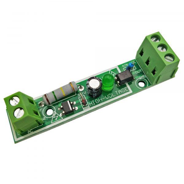 Module phát hiện điện áp 220V AC với Optocoupler cách ly