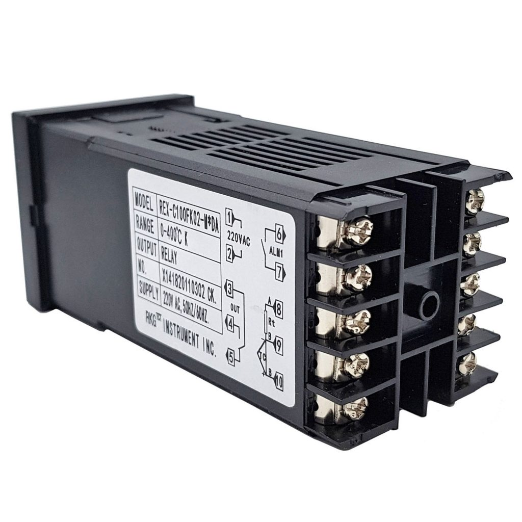 Bộ khống chế nhiệt độ 400 độ REX-C100 output Relay 10A