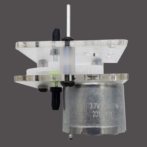 Động cơ giảm tốc 310 chạy pin năng lượng mặt trời 400rpm