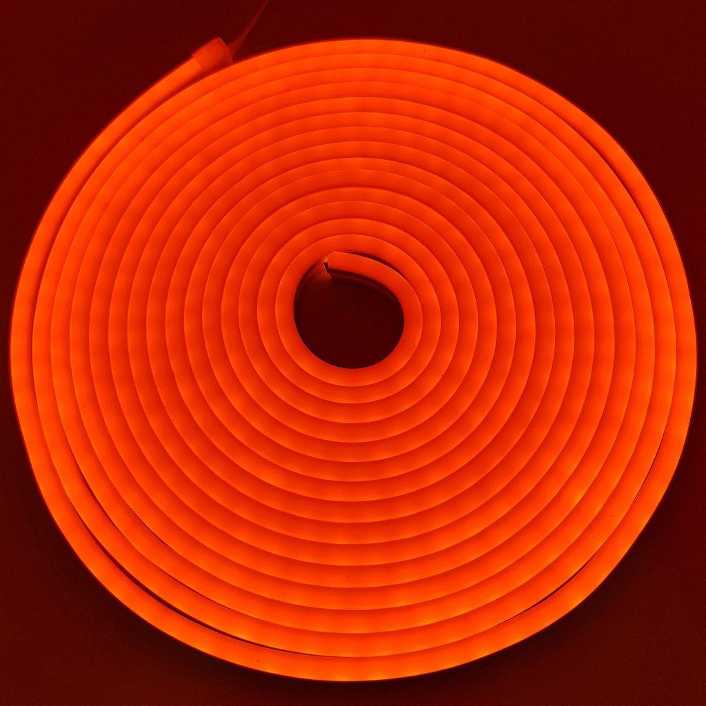 Led NEON 6x12mm cuộn 5m màu cam