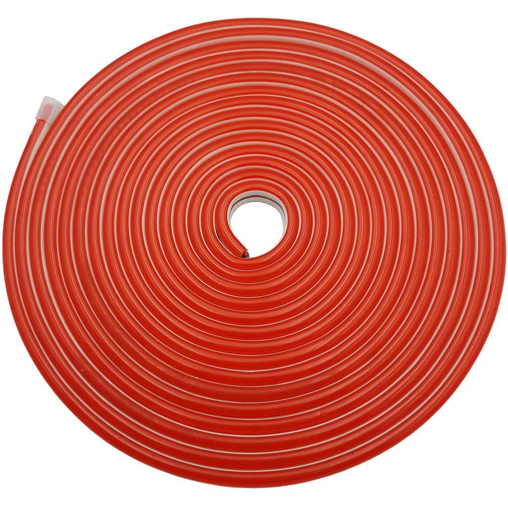 Led NEON 6x12mm cuộn 5m màu đỏ