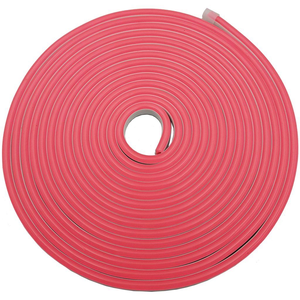 Led NEON 6x12mm cuộn 5m màu hồng