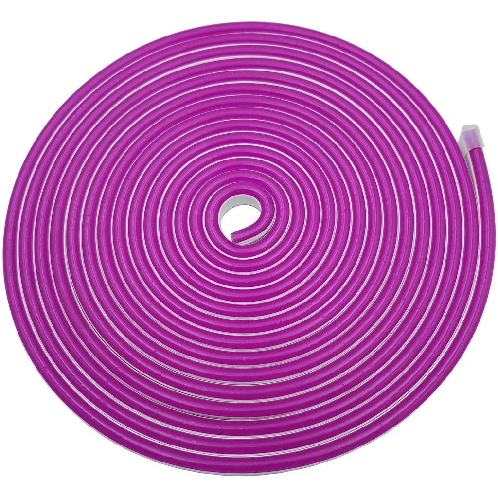 Led NEON 6x12mm cuộn 5m màu tím