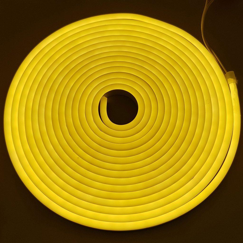 Led NEON 6x12mm cuộn 5m màu trắng ấm
