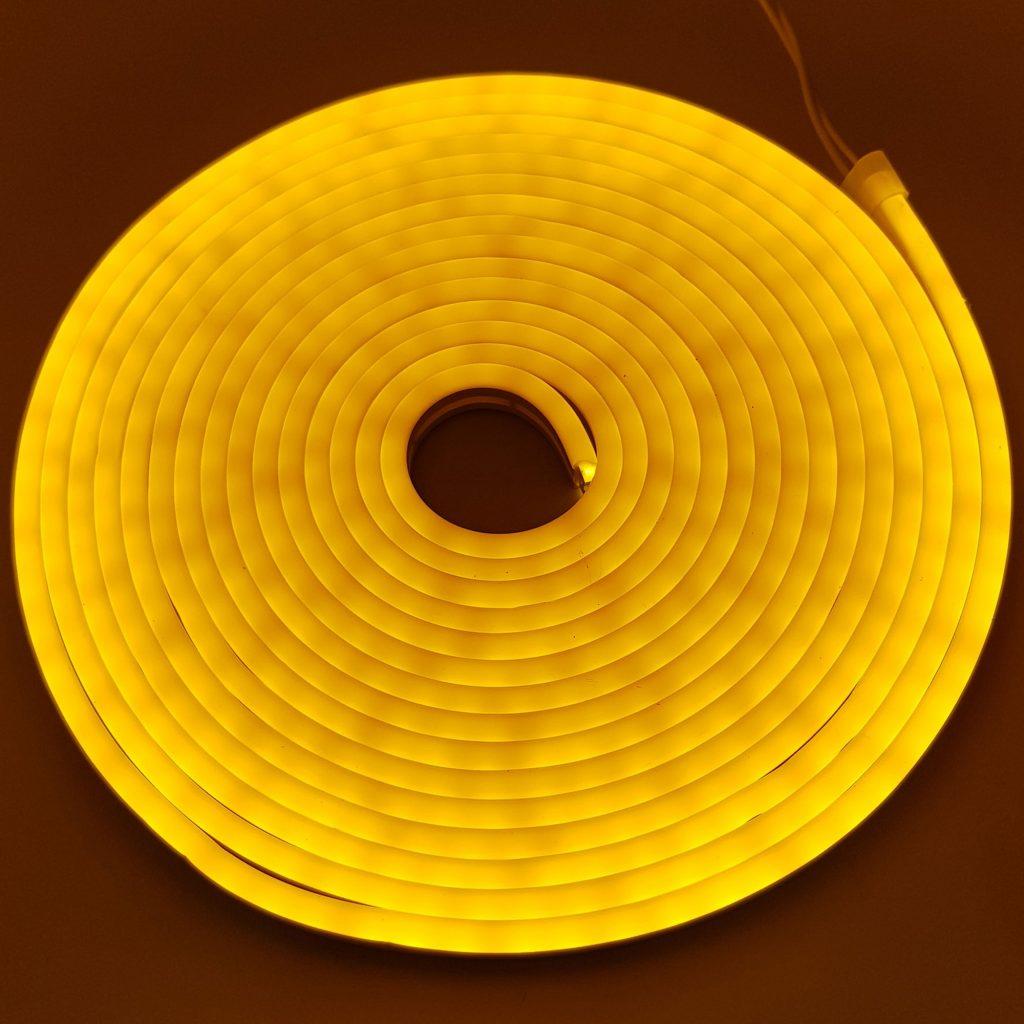 Led NEON 6x12mm cuộn 5m màu vàng