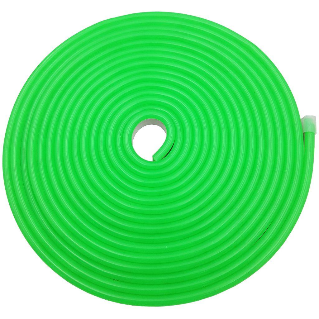 Led NEON 6x12mm cuộn 5m màu xanh lá
