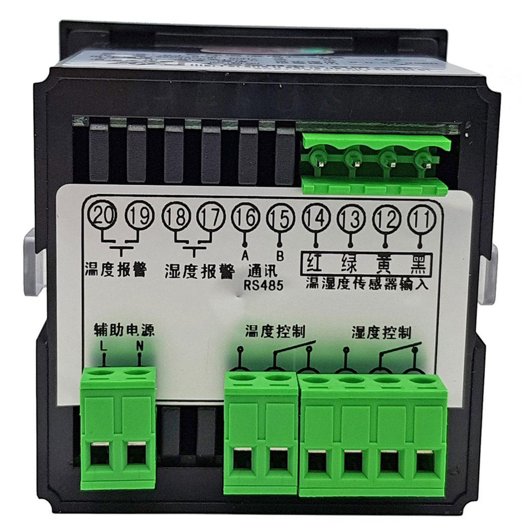 Bộ khống chế điều khiển nhiệt độ và độ ẩm CJ-602 với cảm biến chống ẩm IP55