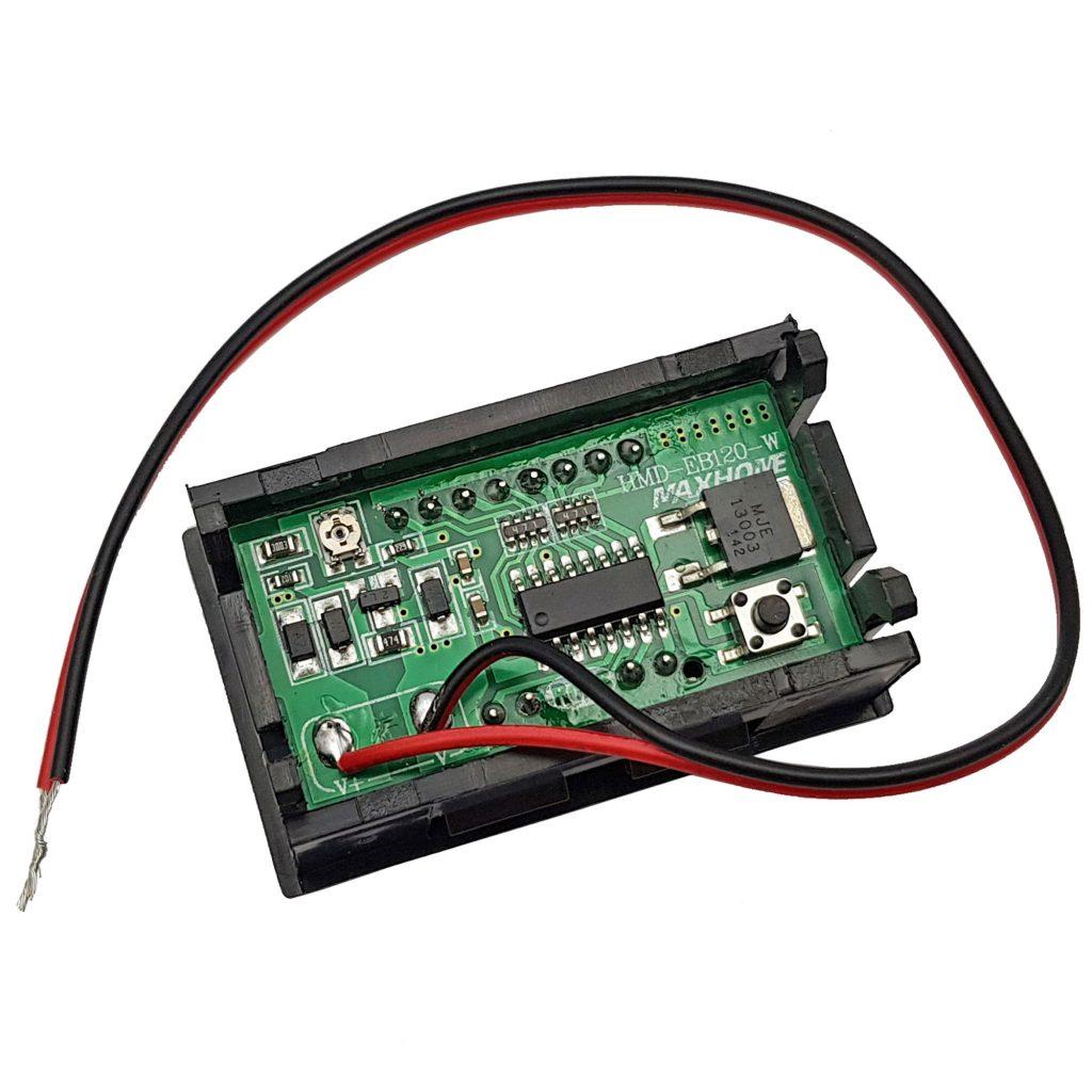 Đồng hồ hiển thị điện áp, mức dung lượng Pin Acquy đa năng