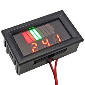 Đồng hồ hiển thị điện áp mức dung lượng Pin Acquy đa năng
