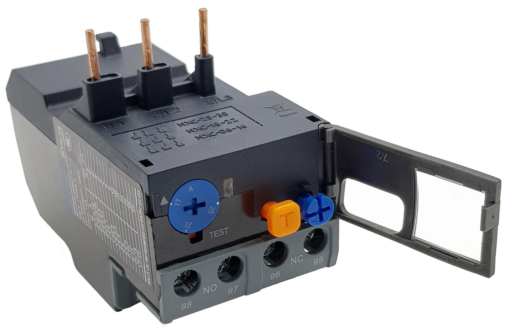 Relay nhiệt CHINT NXR-25 17A-25A Cho Contactor NXC