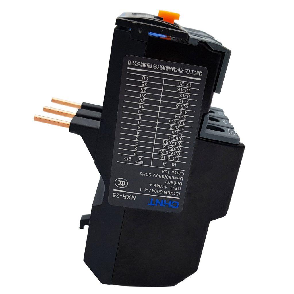 Relay nhiệt CHINT NXR-25 9A-13A cho Contactor NXC
