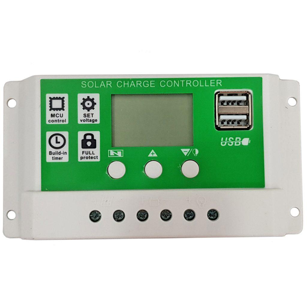 Bộ điều khiển của Tấm pin năng lượng mặt trời Mono 18V 30W kèm bộ điều khiển sạc