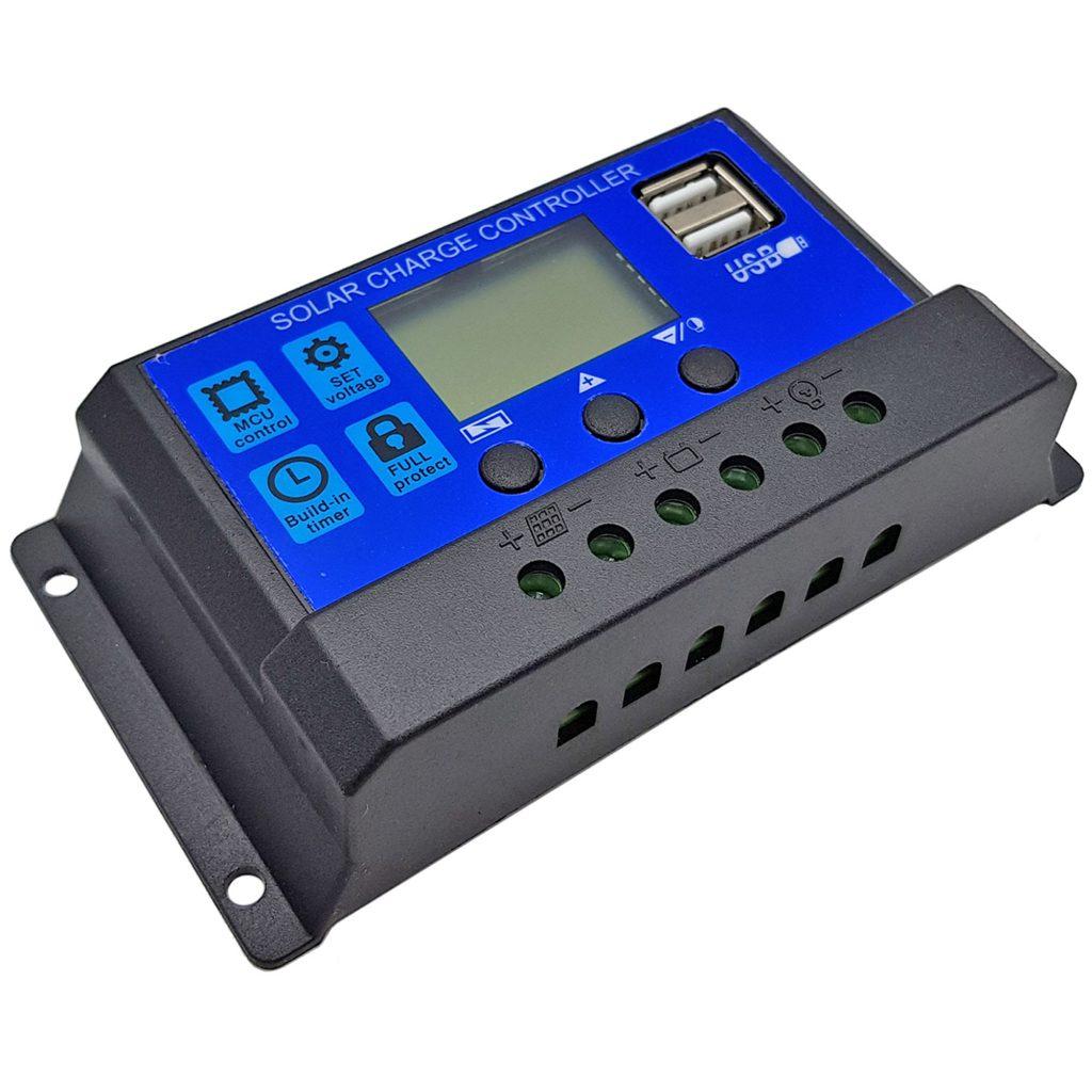 Bộ điều khiển sạc Tấm pin năng lượng mặt trời Mono 18V 40W kèm bộ điều khiển sạcBộ điều khiển sạc Tấm pin năng lượng mặt trời Mono 18V 40W kèm bộ điều khiển sạc