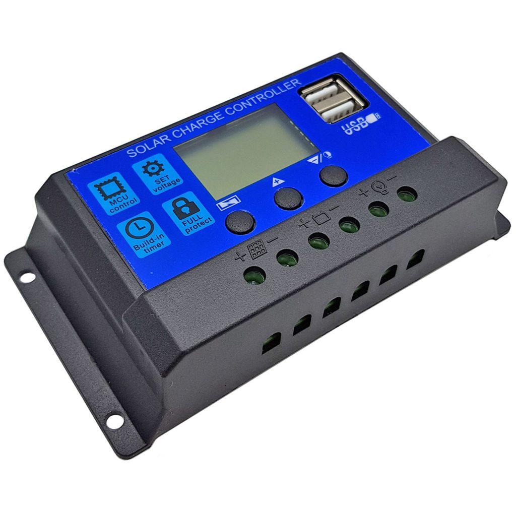 Bộ điều khiển Tấm pin năng lượng mặt trời Mono 18V 50W kèm bộ điều khiển sạc