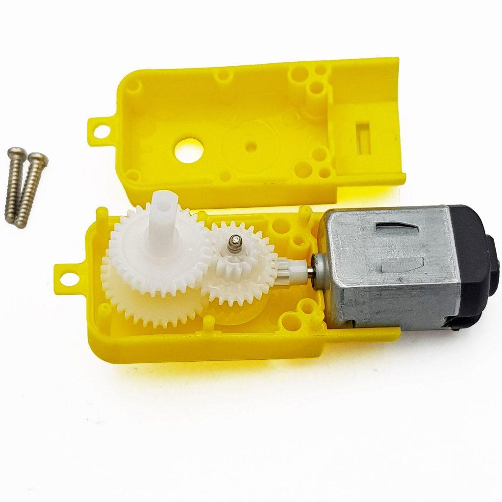 Động cơ DC giảm tốc vàng 2 trục
