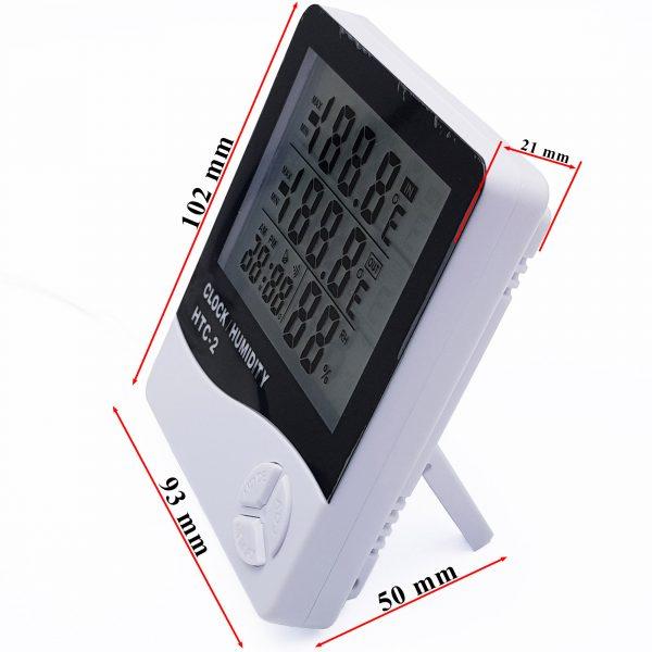 Đồng hồ đo nhiệt độ và độ ẩm HTC-2