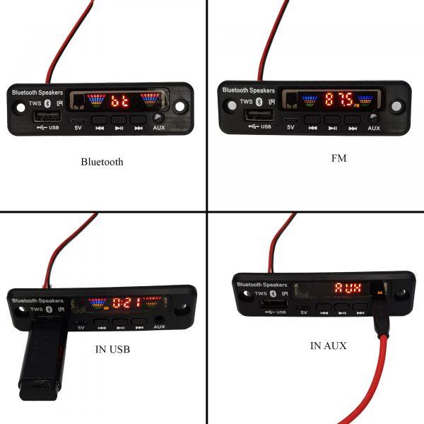 Mạch giải mã âm thanh Bluetooth FM 5.0 AVN-757