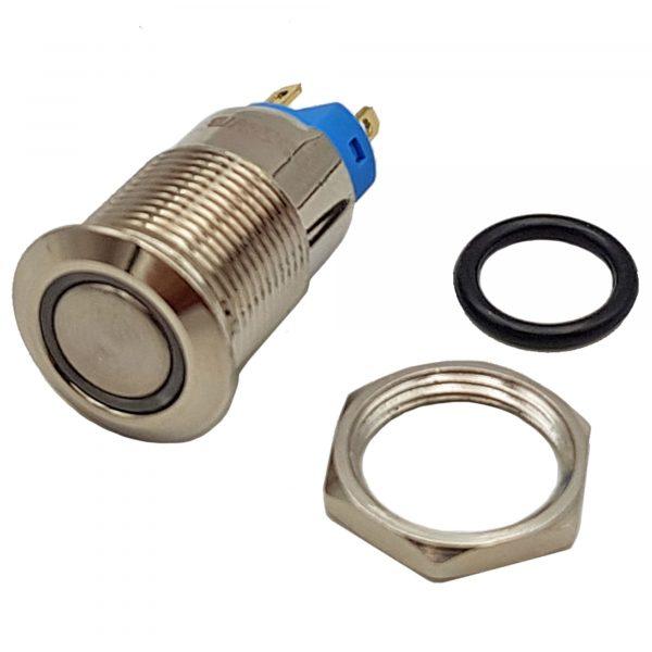 Nút nhấn tự giữ kim loại 12mm