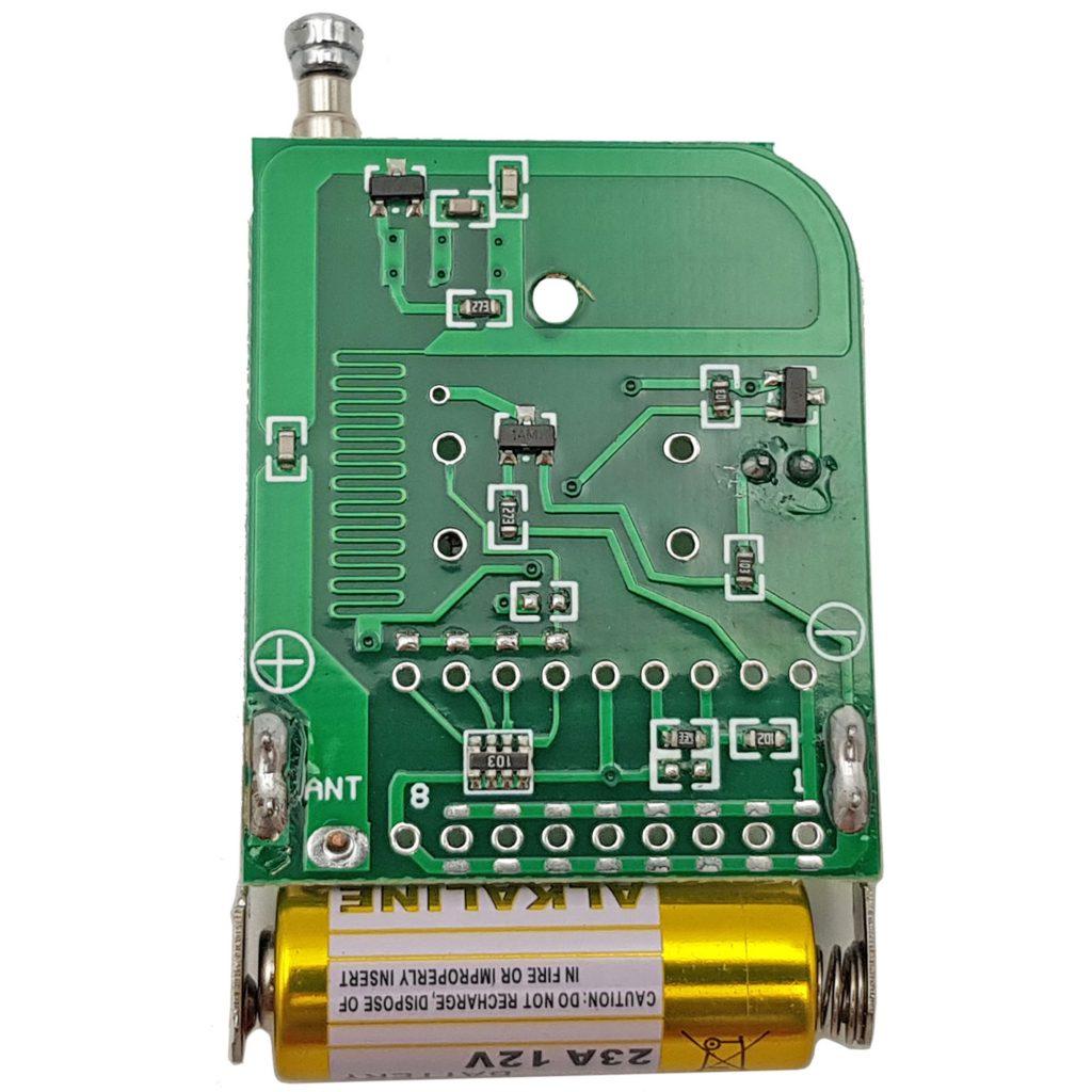 Remote 2 kênh AB mã cố định tần số 315mhz sử dụng IC EV1527