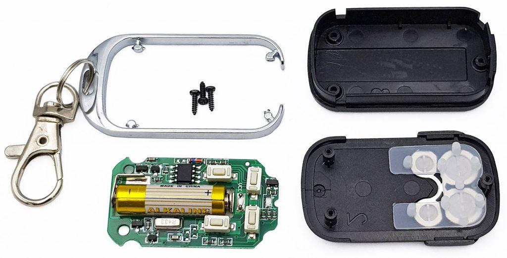 Remote 4 kênh sao chép mã nhảy tần số 315MHz / 433Mhz
