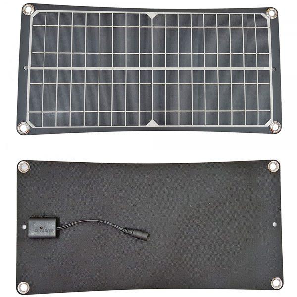 Tấm pin năng lượng mặt trời Mono 18V 30W kèm bộ điều khiển sạc