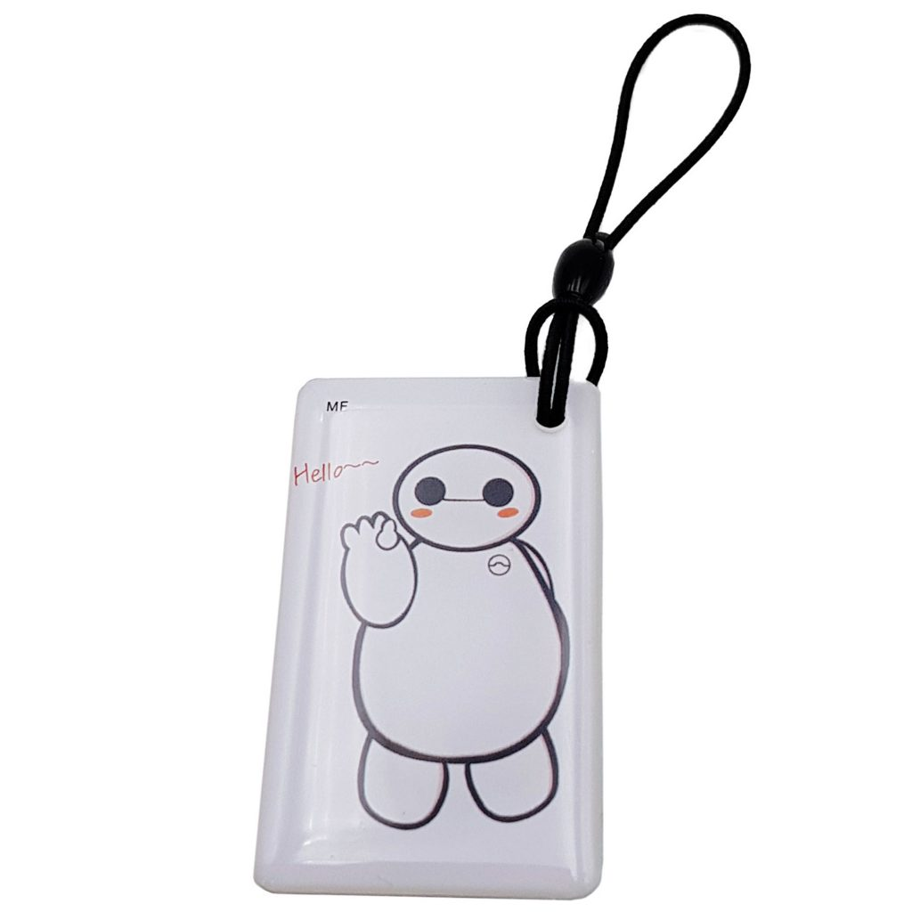 Thẻ Từ RFID Móc Khóa Đặc Biệt Tần Số Kép 13.56Mhz, 125Khz Sao Chép Được