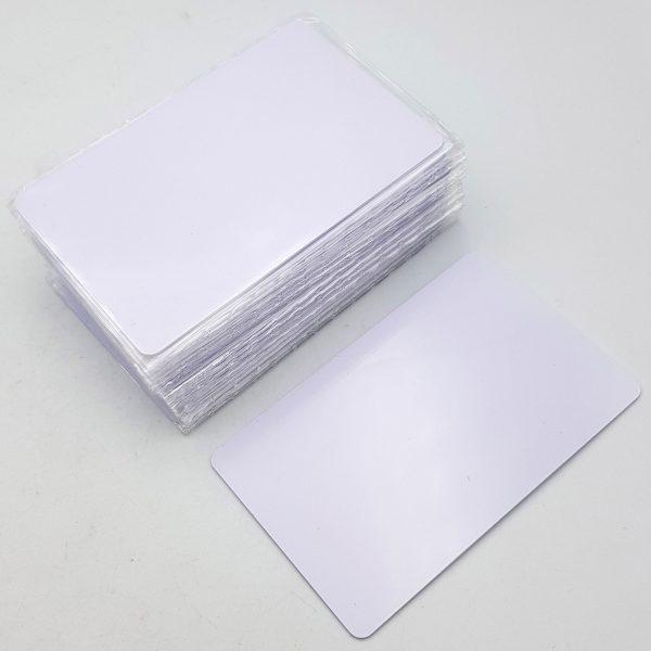 Thẻ từ RFID trắng tần số kép 13.56Mhz, 125Khz sao chép được