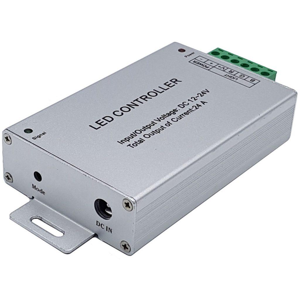 Bộ điều khiển Led Rgb Controller 12-24V 24A + Remote 44 phím