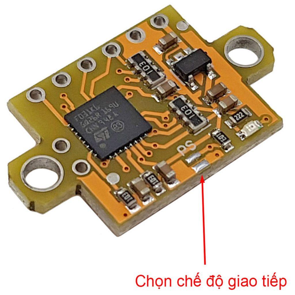 Cảm biến khoảng cách laser GY-56 VL53L1X ToF