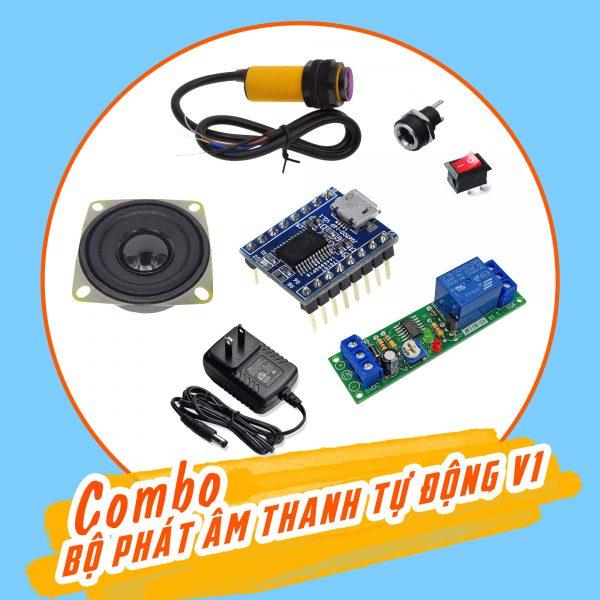 Combo tự chế bộ phát âm thanh tự động V1