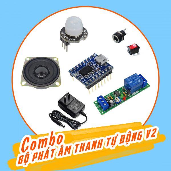 Combo tự chế bộ phát âm thanh tự động V2