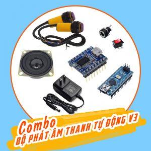 Combo tự chế bộ phát âm thanh tự động V3
