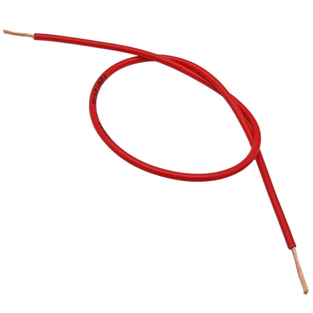 Dây điện đơn Lion VCm 0.5 màu đỏ