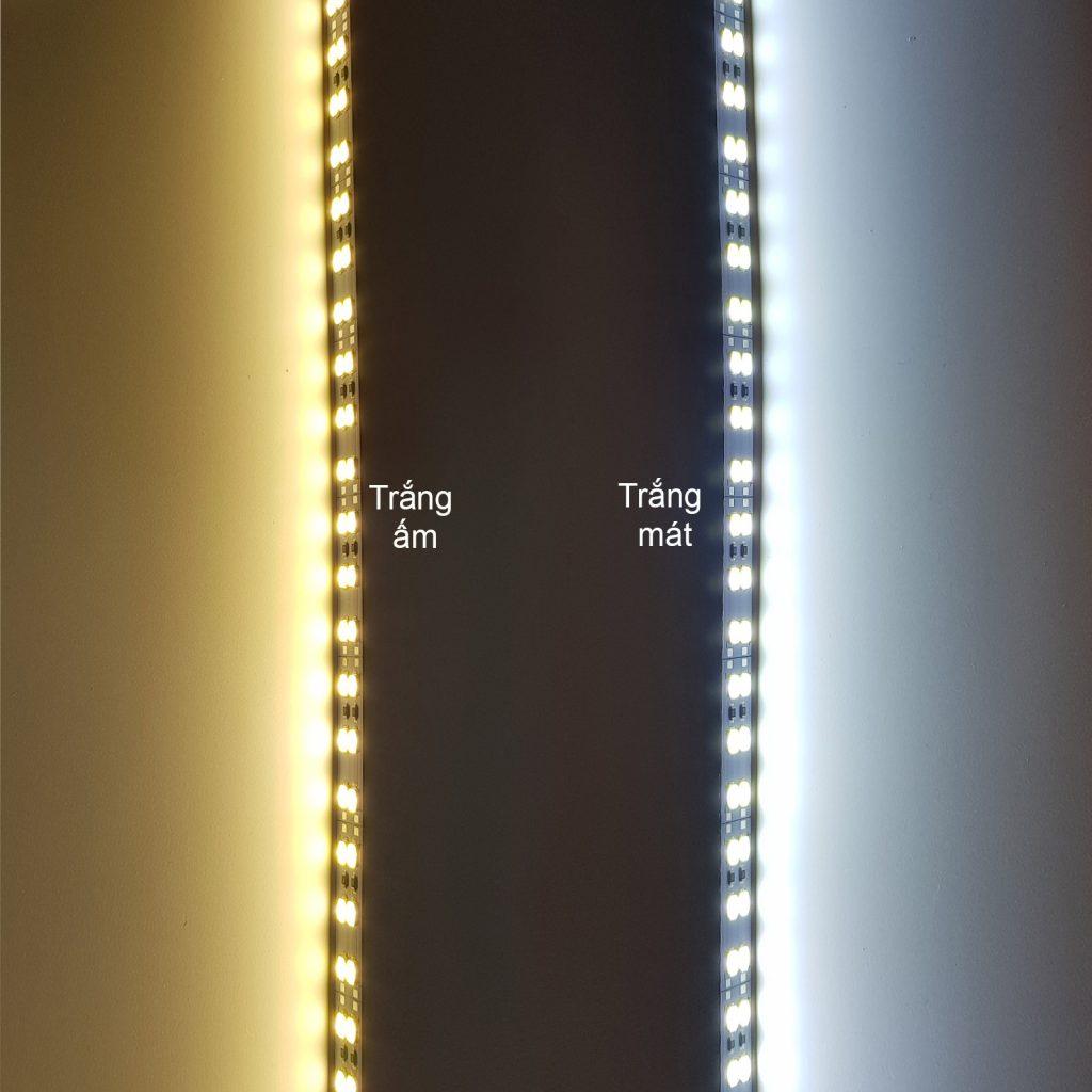 Led thanh 5730 12V ánh sáng trắng 3500K 1 mét 144 bóng