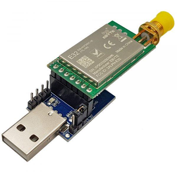 Mạch chuyển đổi USB sang TTL E15-USB-T2 CP2102