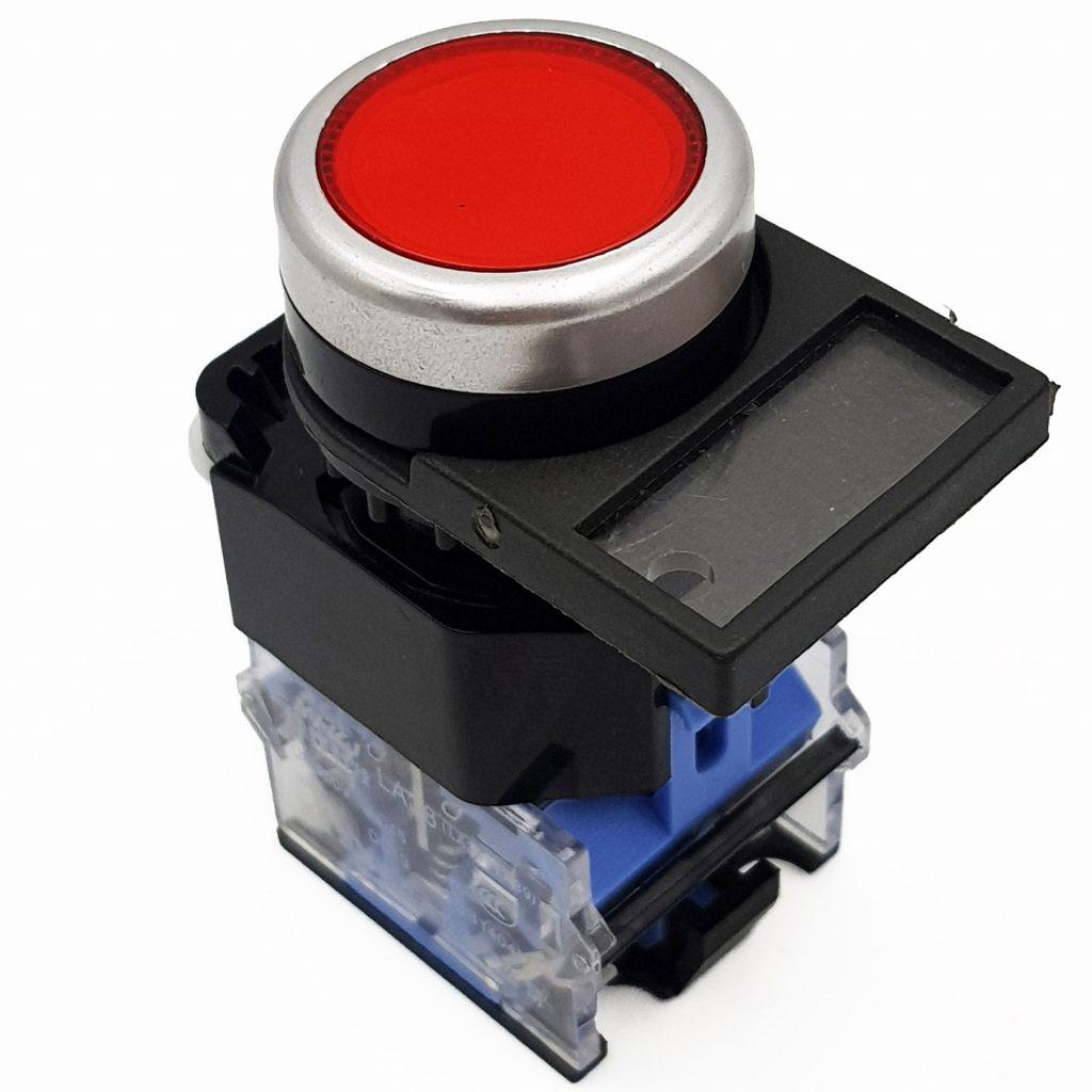 Miếng ghi tên thiết bị tủ điện 22mm