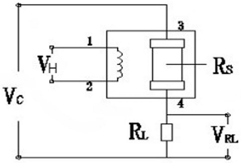 Sơ đồ kết nối Cảm biến chất lượng không khí MP-135