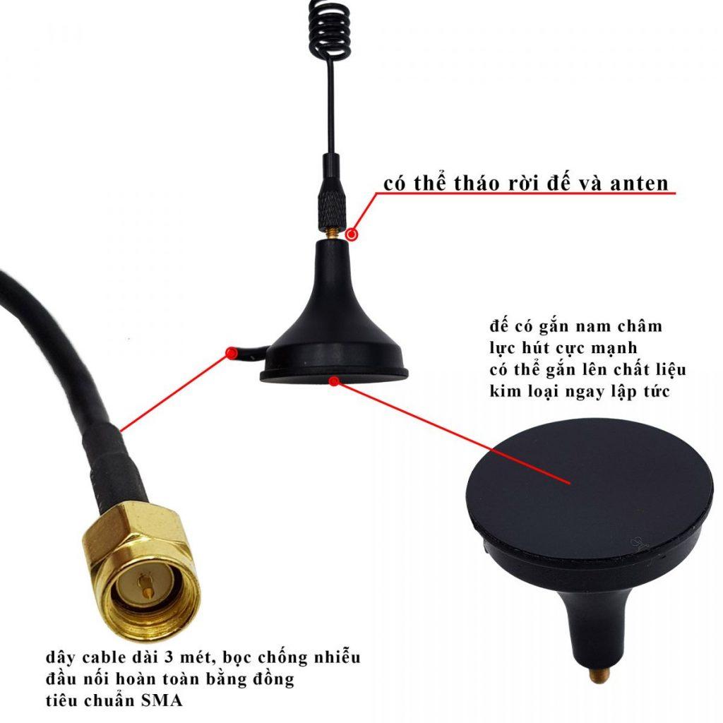Anten Lora RF 433mhz
