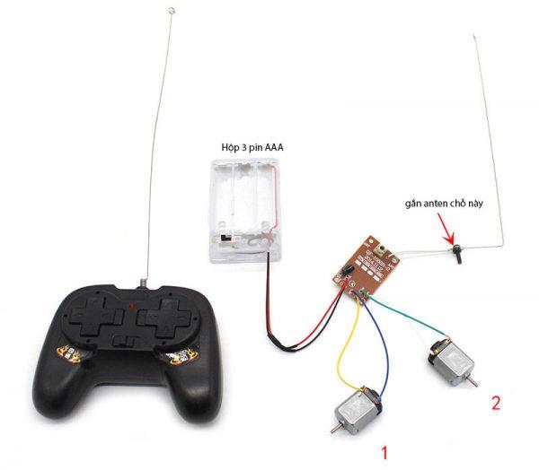 Bộ linh kiện STEM Kit V2