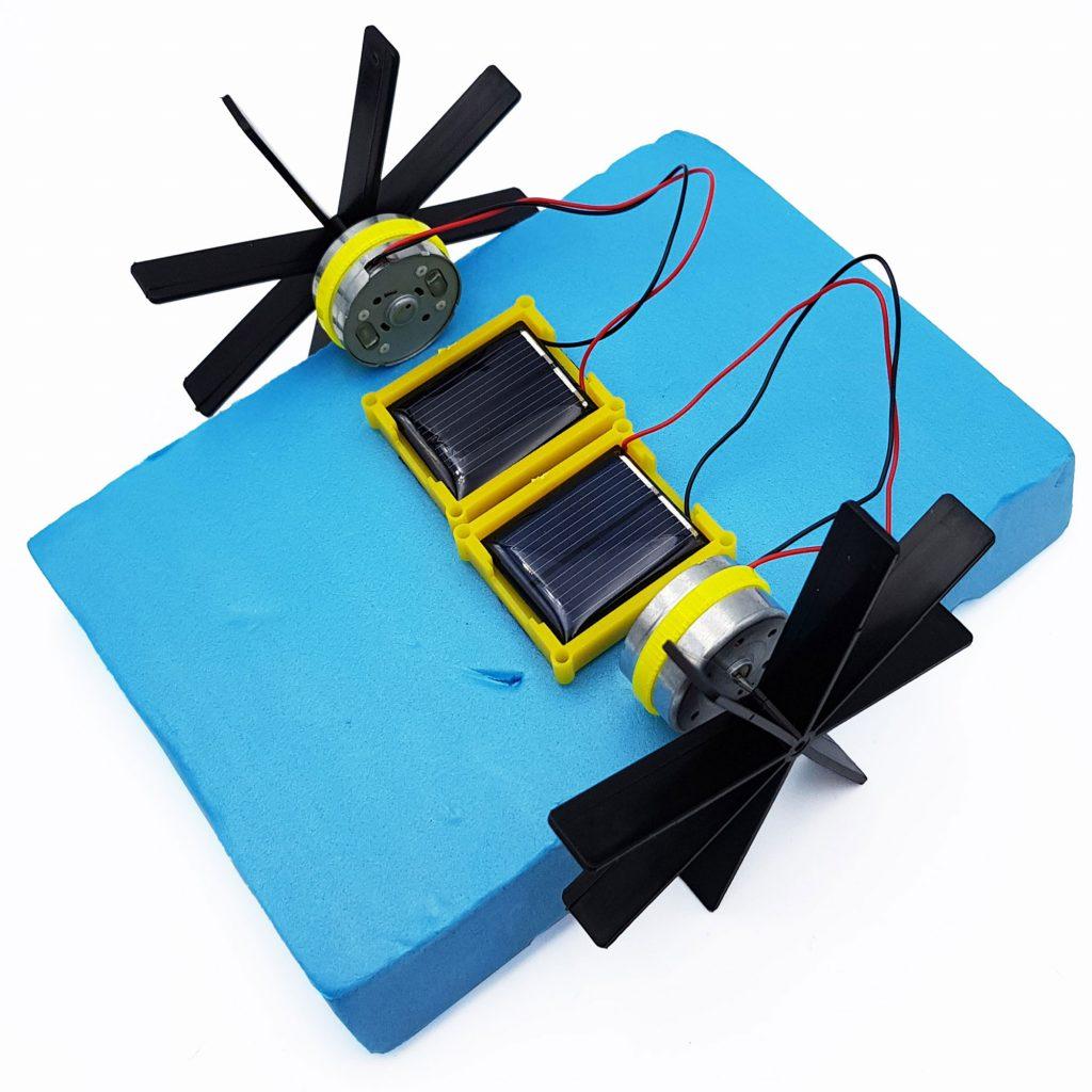 Bộ mô hình thuyền chạy năng lượng mặt trời
