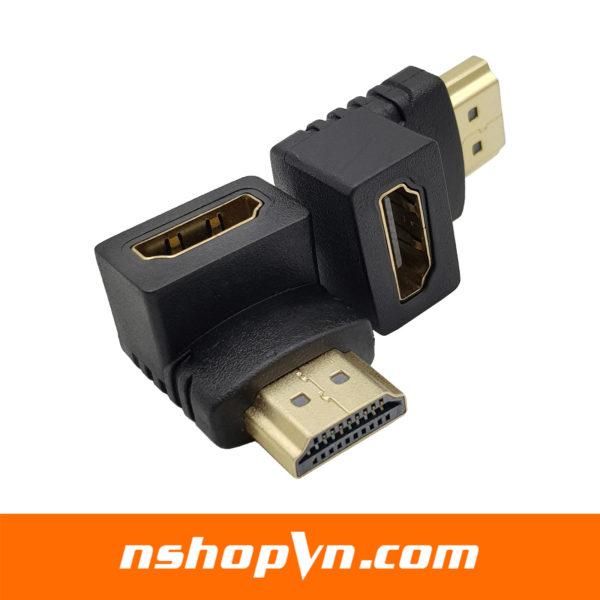 Đầu nối HDMI sang HDMI vuông góc