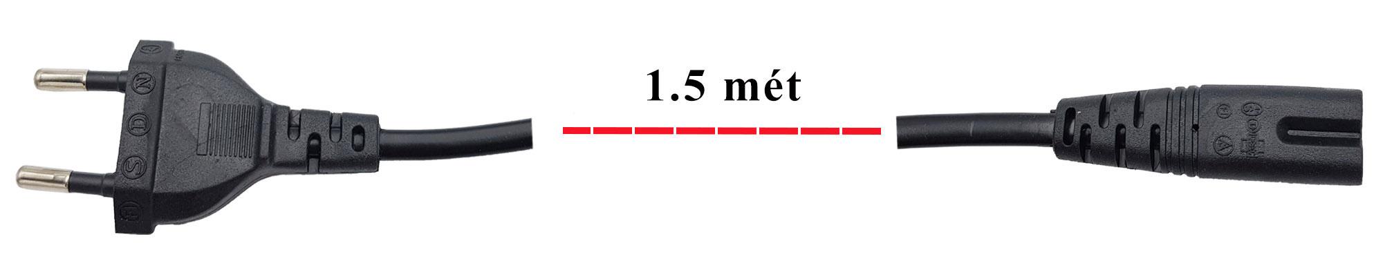 Dây nguồn AC đuôi số 8 (phích cắm tiêu chuẩn Châu Âu)