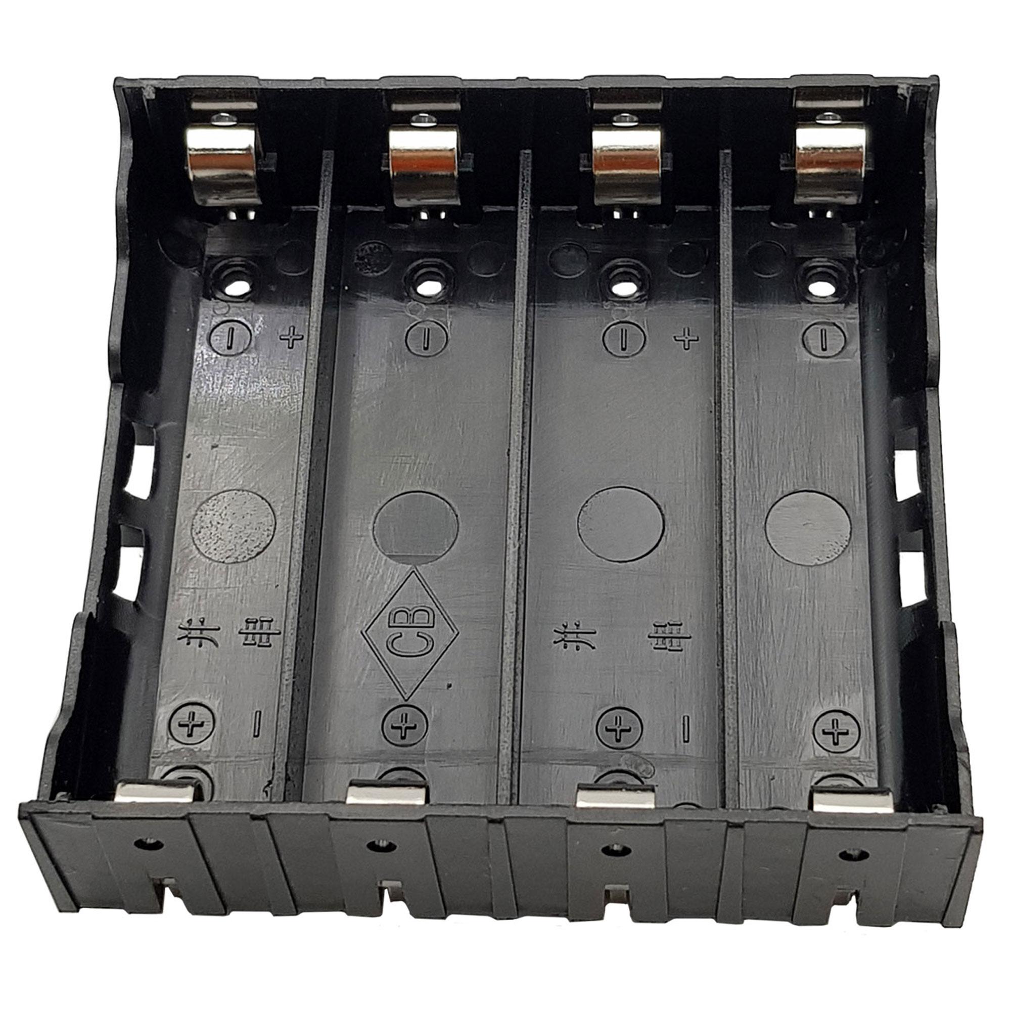 Đế 4 Pin 18650 Hàn PCB