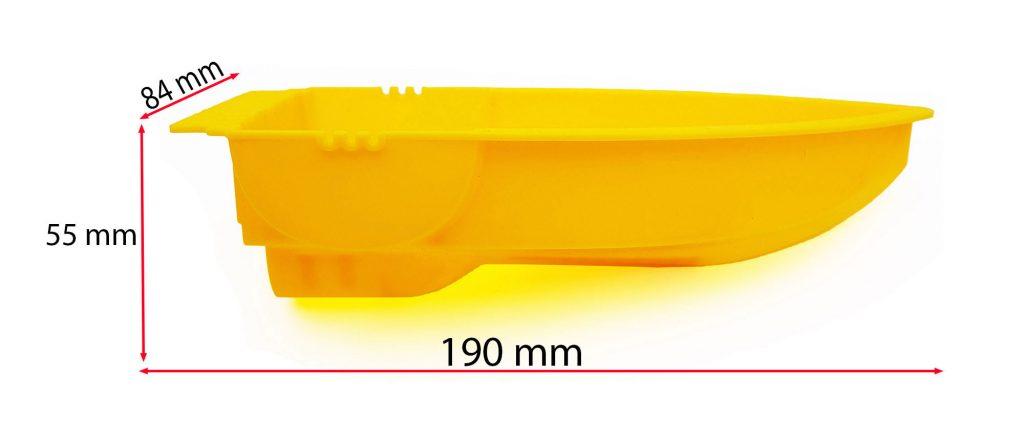 Kích thước Khung thuyền DIY