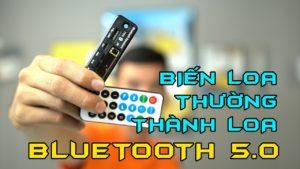 Hướng dẫn chế tạo loa Bluetooth từ loa thường