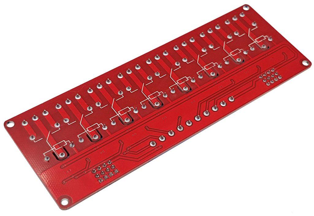 Module 8 relay với opto cách ly kích H/L 24VDC 10A